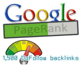 1500 DoFollow backlinks PR1-8